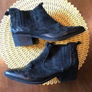 Zara Western Ankle Boots